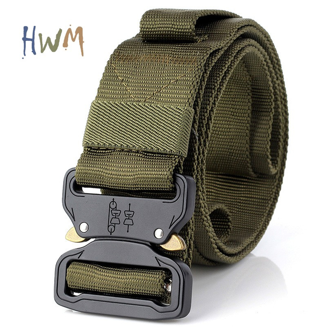 4.5cm Outdoot Gear Climbing Belt with Quick-Release Cobra Buckle