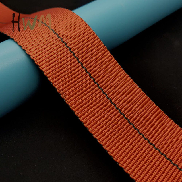 Imitation Nylon Webbing, Different Color on Two Face