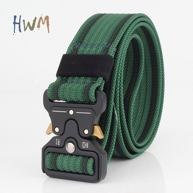 Military Belt Men Tactical Belts Nylon Cobra Belt