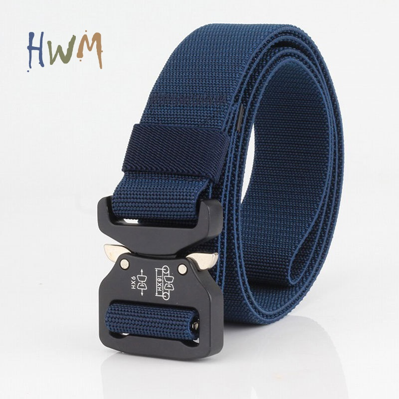 Elastic Cobra Buckle Tactical Outdoor Belt