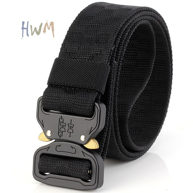 Cobra Buckle Tactical Outdoor Military Training Multifunctional Belt
