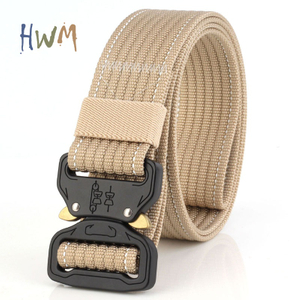 Outdoor Tactical Belt Multifunctional Nylon Training Belt 3.8CM