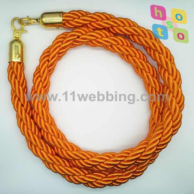 Braided Rope for Crowd Control Post